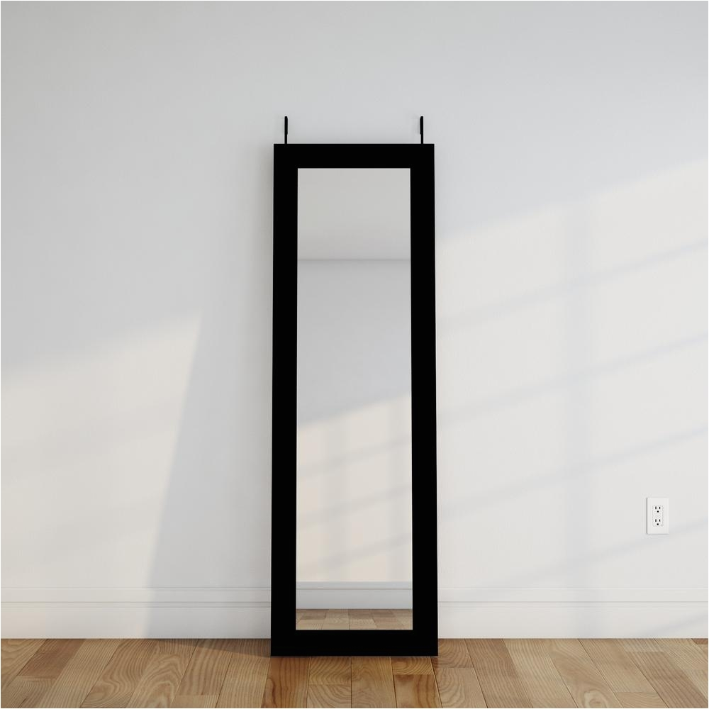 black over the door full length