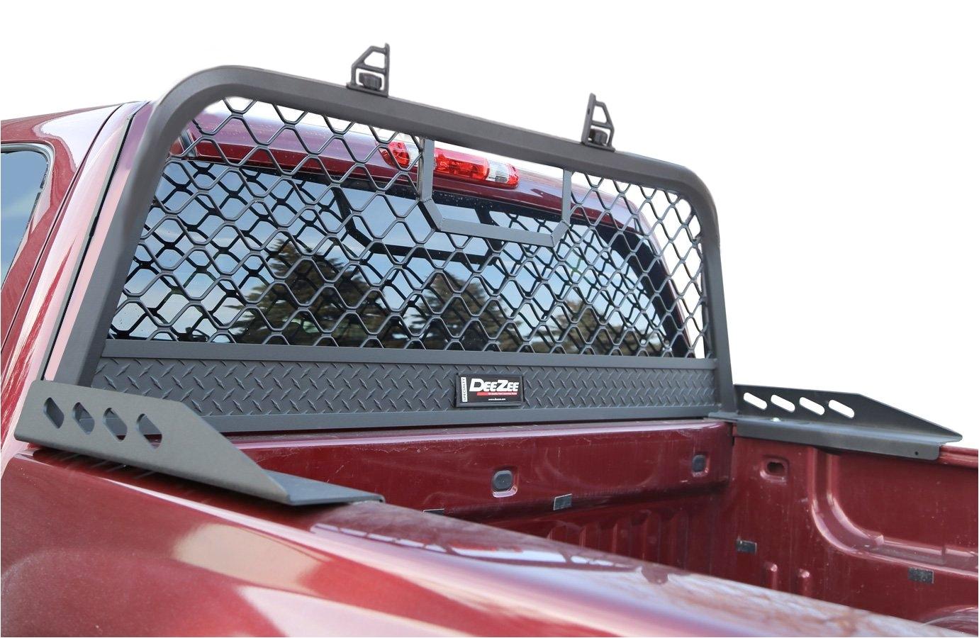 Dee Zee Headache Rack Ram 2500 Dee Zee Headache Rack Steel Aluminium Mesh Truck Rack