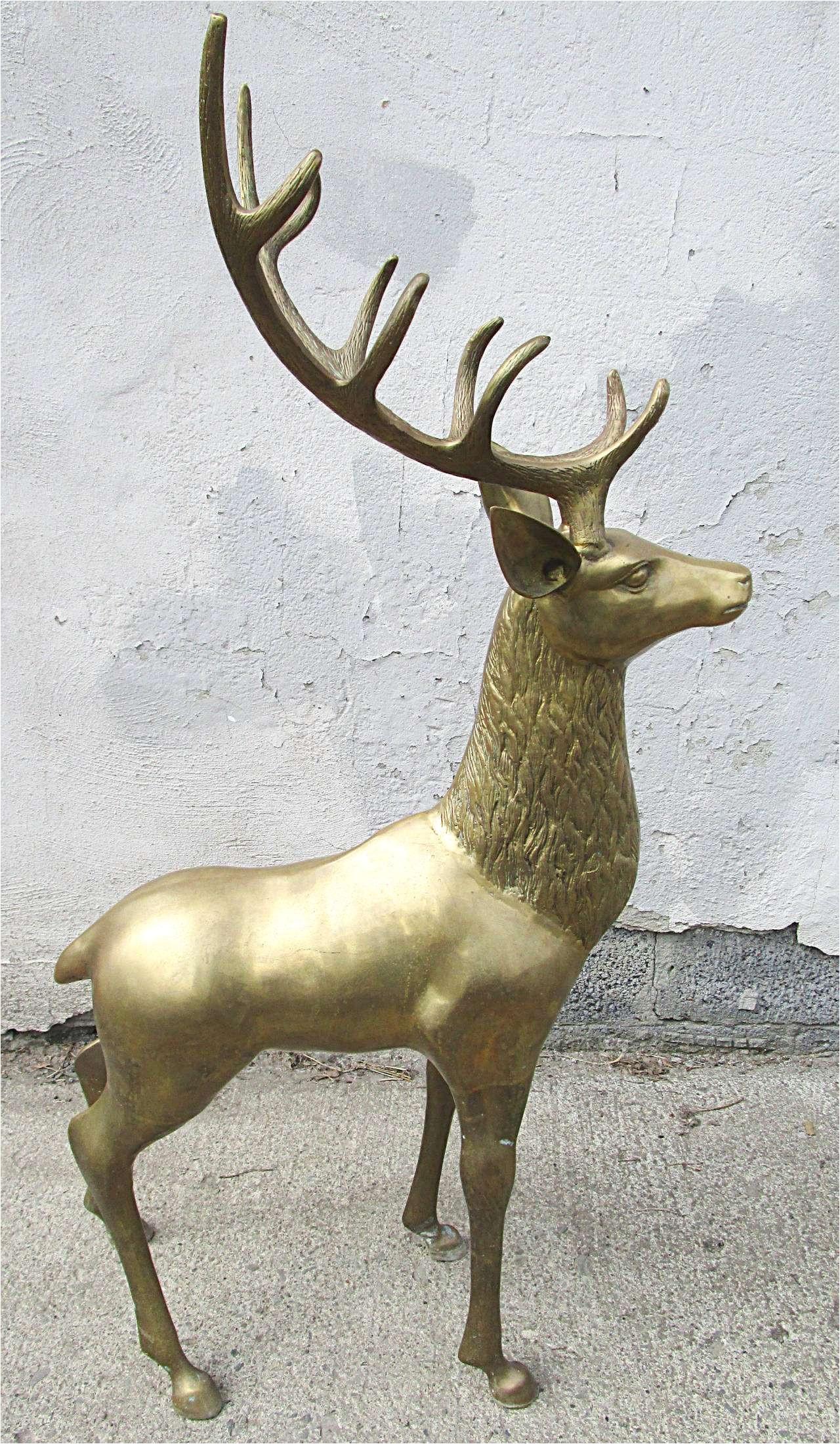 Deer Statues Outdoor Decor Bradshomefurnishings