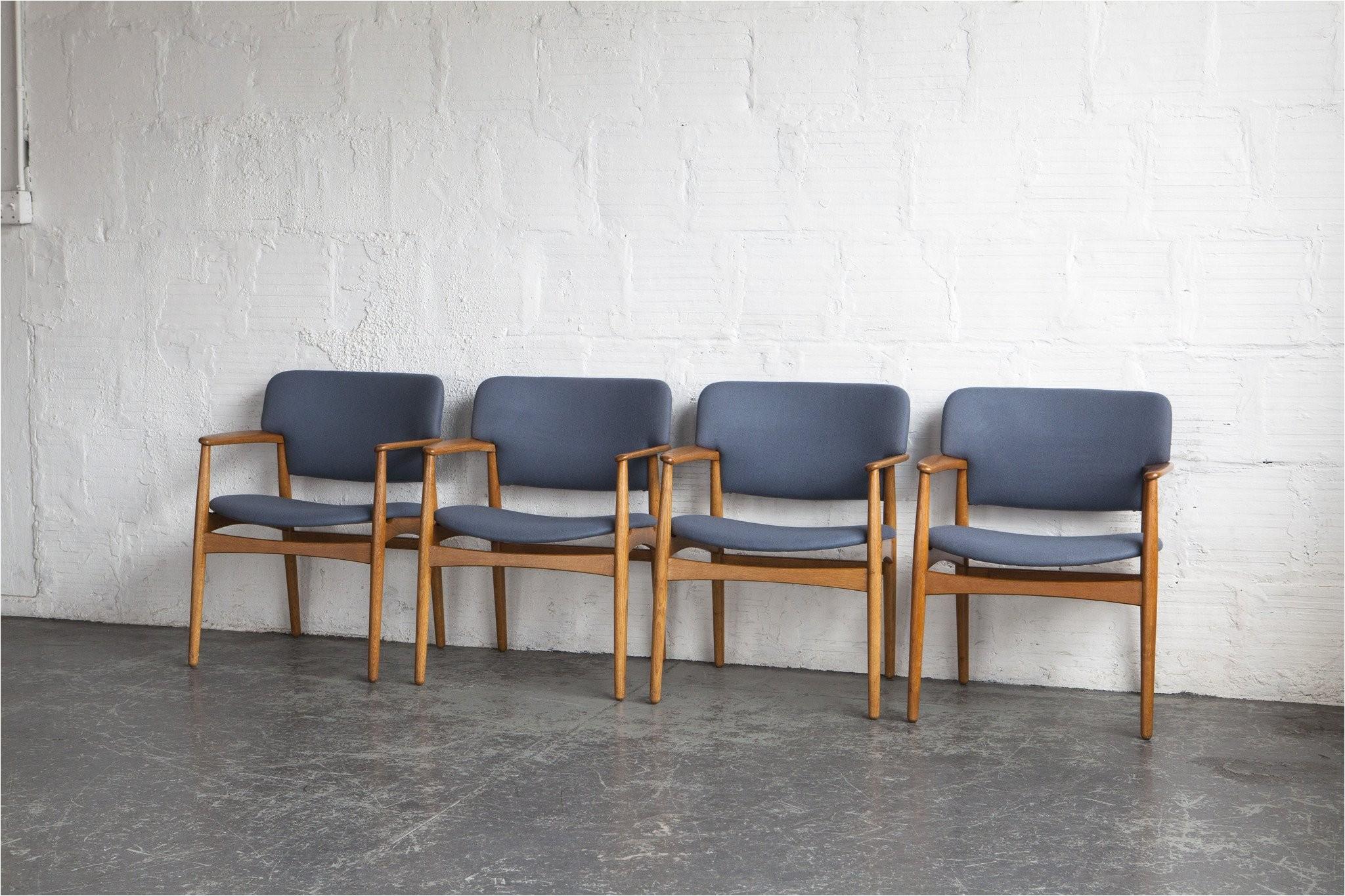 Dining Chairs Set Of 4 Ejnar Larsen Aksel Bender Madsen Dining Chairs Set Of 4 the