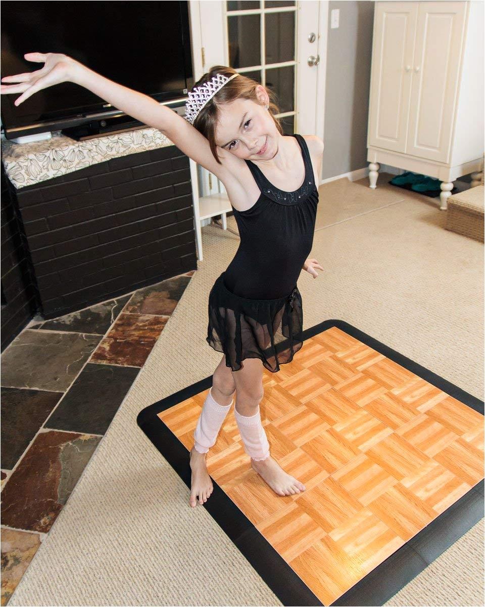 amazon com snapfloors 3x3oakfloor modular dance floor kit 3 x 3 oak 21 piece home improvement