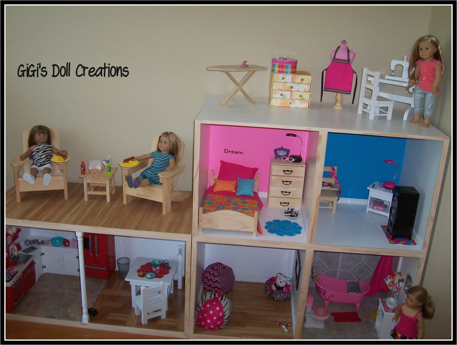 Diy American Girl Doll House Plans Elegant Ideas Of Cheap American