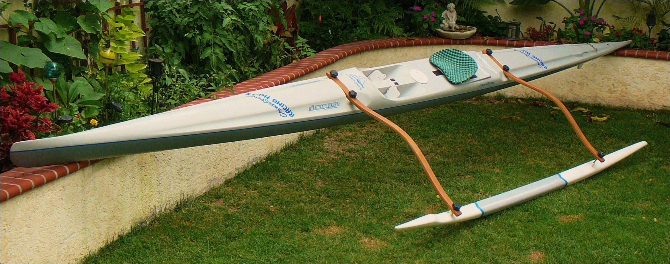 image result for diy kayak outrigger