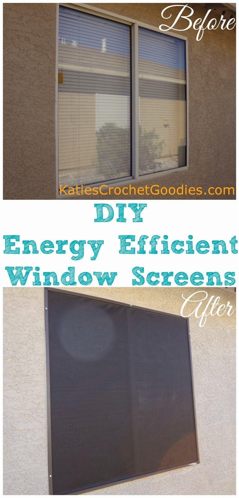 diy energy efficient window screens saveenergy environment energyefficient
