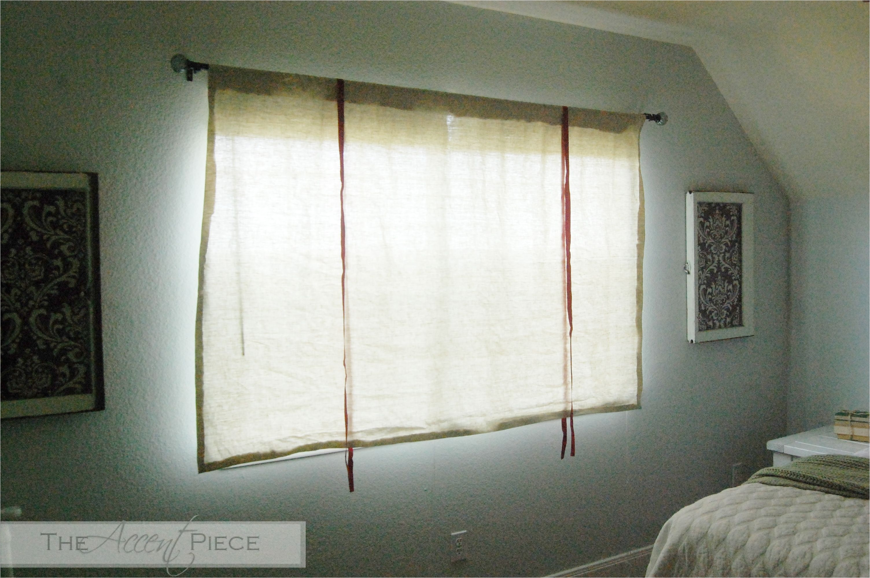diy tie up curtain diy no sew tie up curtains
