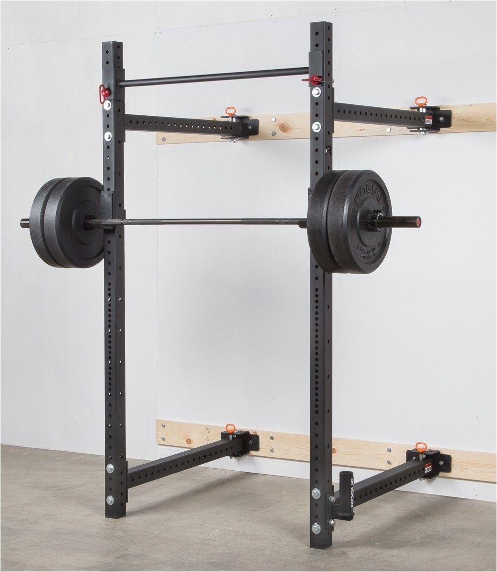 rogue rml 3w fold back wall mount rack rogue fitness