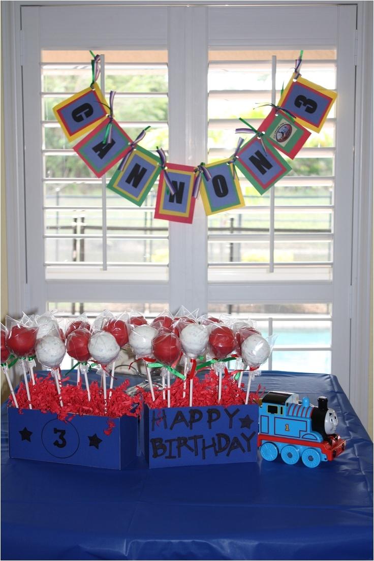cannon s thomas the train birthday