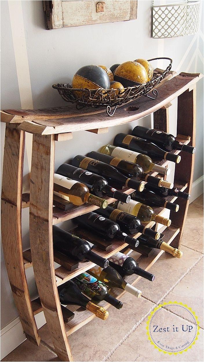Diy Whiskey Barrel Wine Rack Wine or Bottle Rack Made Out Of Wine or Whiskey Barrel Staves Cool