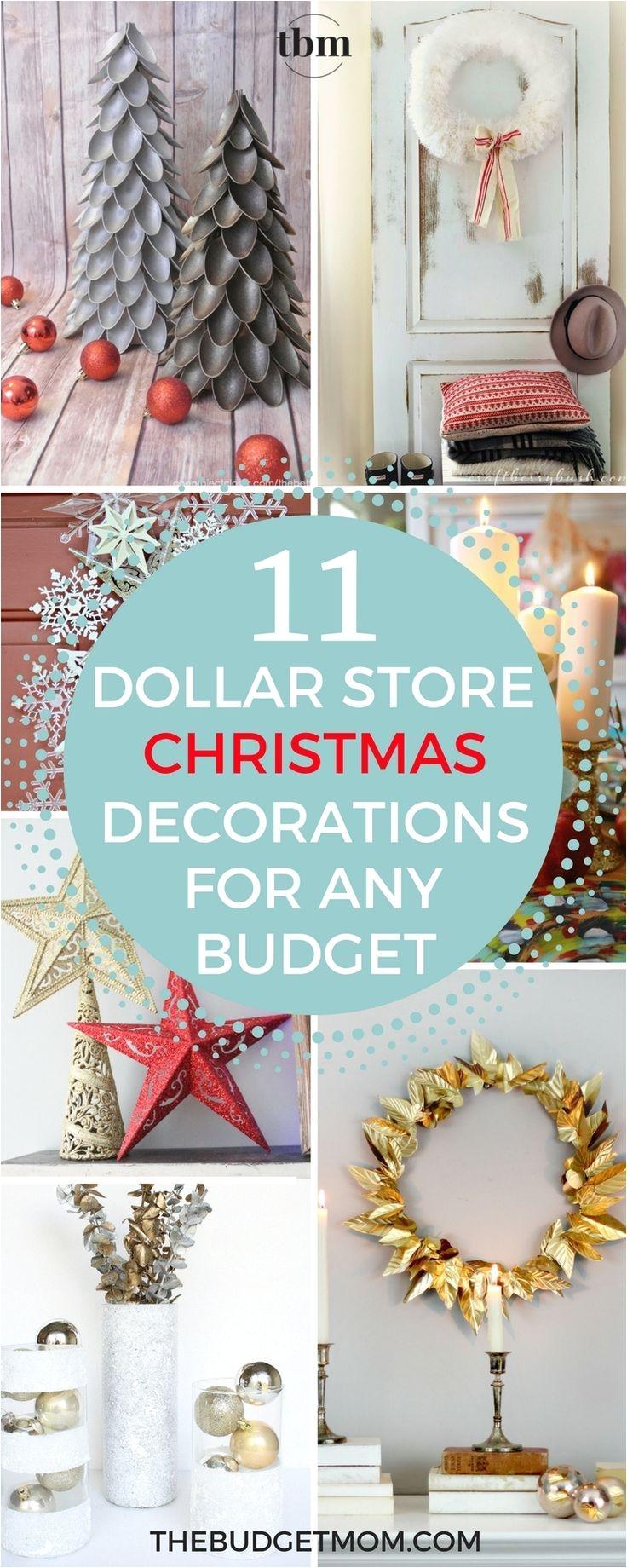 Dollar General Christmas Decorations 2017 11 Glamorous Dollar Store Christmas Decorations for Any Budget
