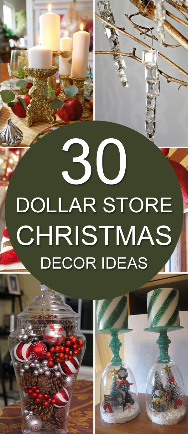 dollar general christmas decorations 2017 30 dollar store christmas decor ideas pinterest dollar stores