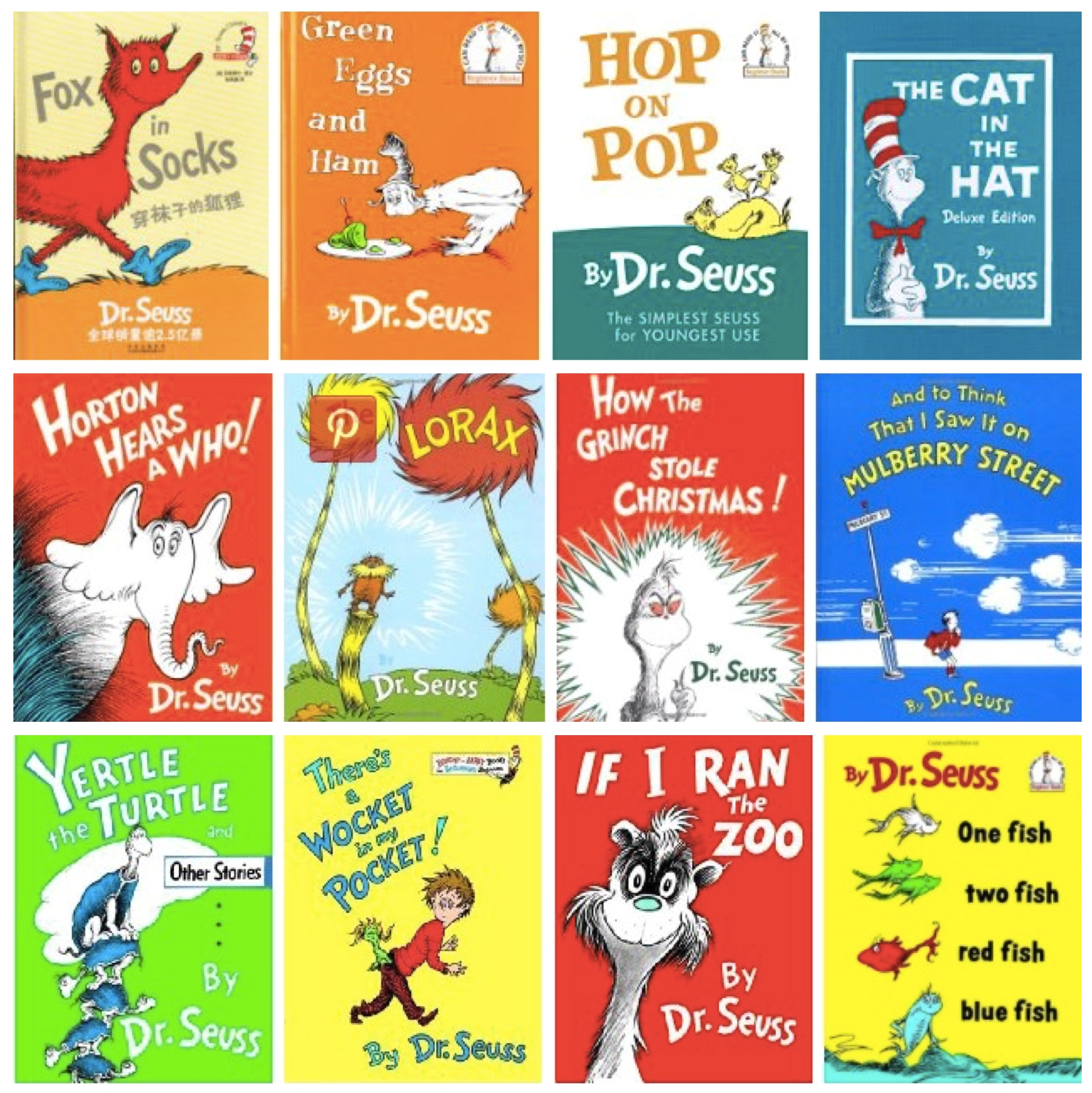 favorite dr seuss books