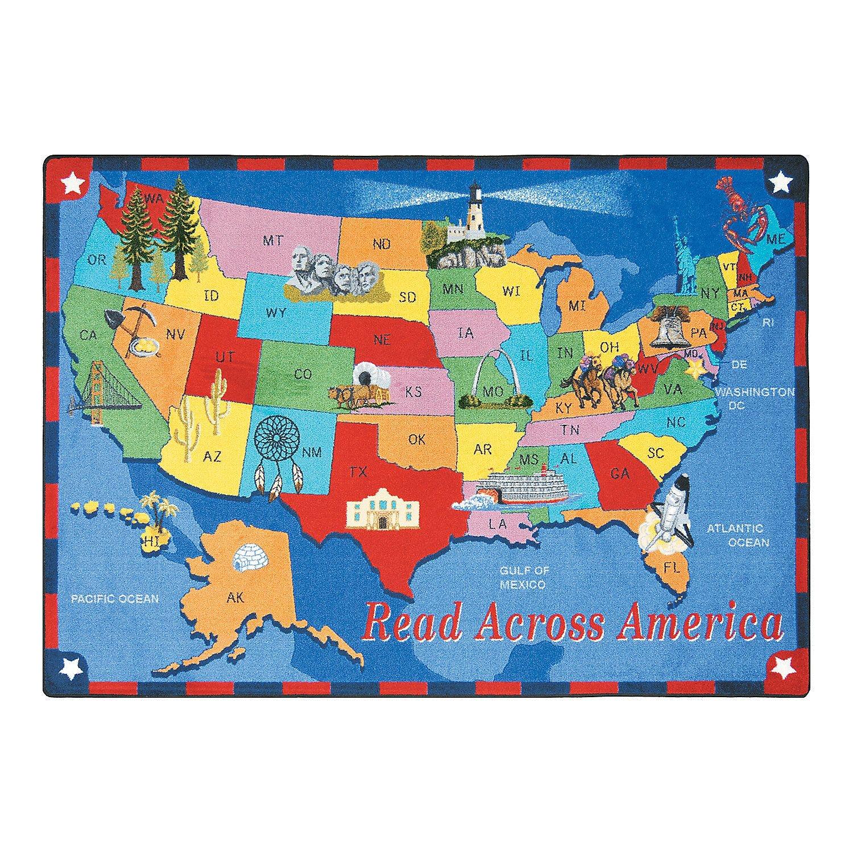 read across americaa classroom rug orientaltrading com