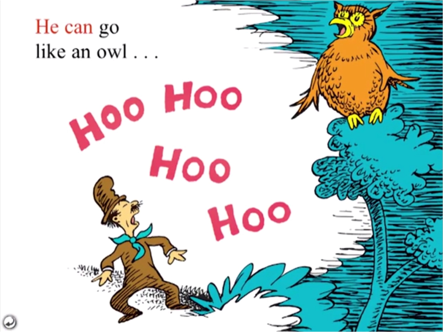 he can go like an owl hoo hoo hoo hoo png