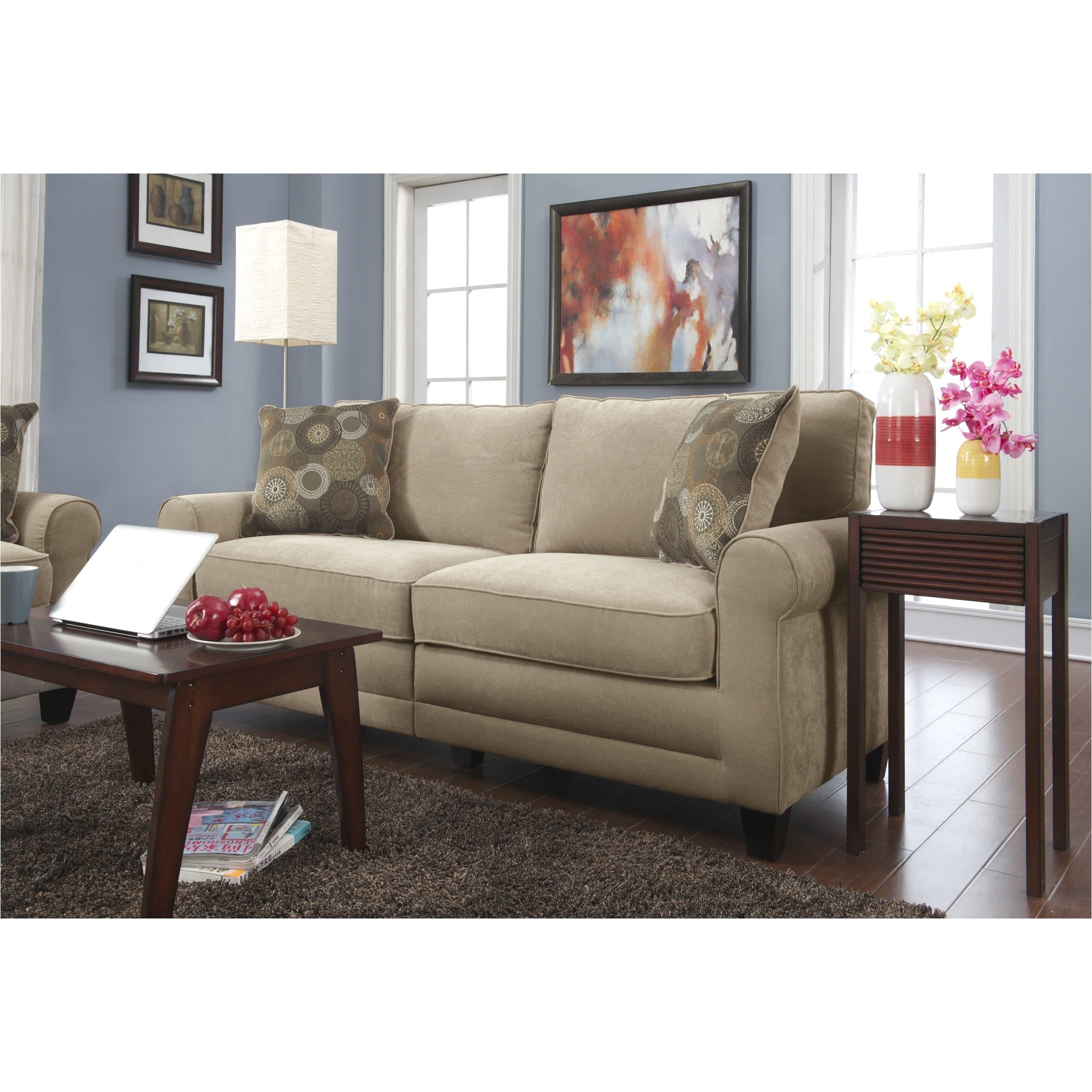 Early American Furniture sofas Shop Serta Rta Copenhagen Collection 78 Inch Vanity Fabric sofa