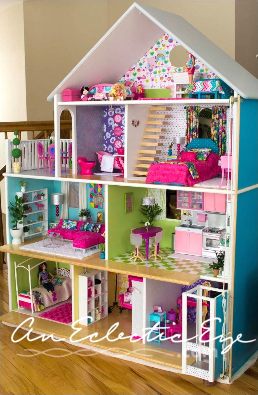 Easy Barbie Doll House Plans Diy Dollhouse My Diys Pinterest Diy Dollhouse Doll Houses