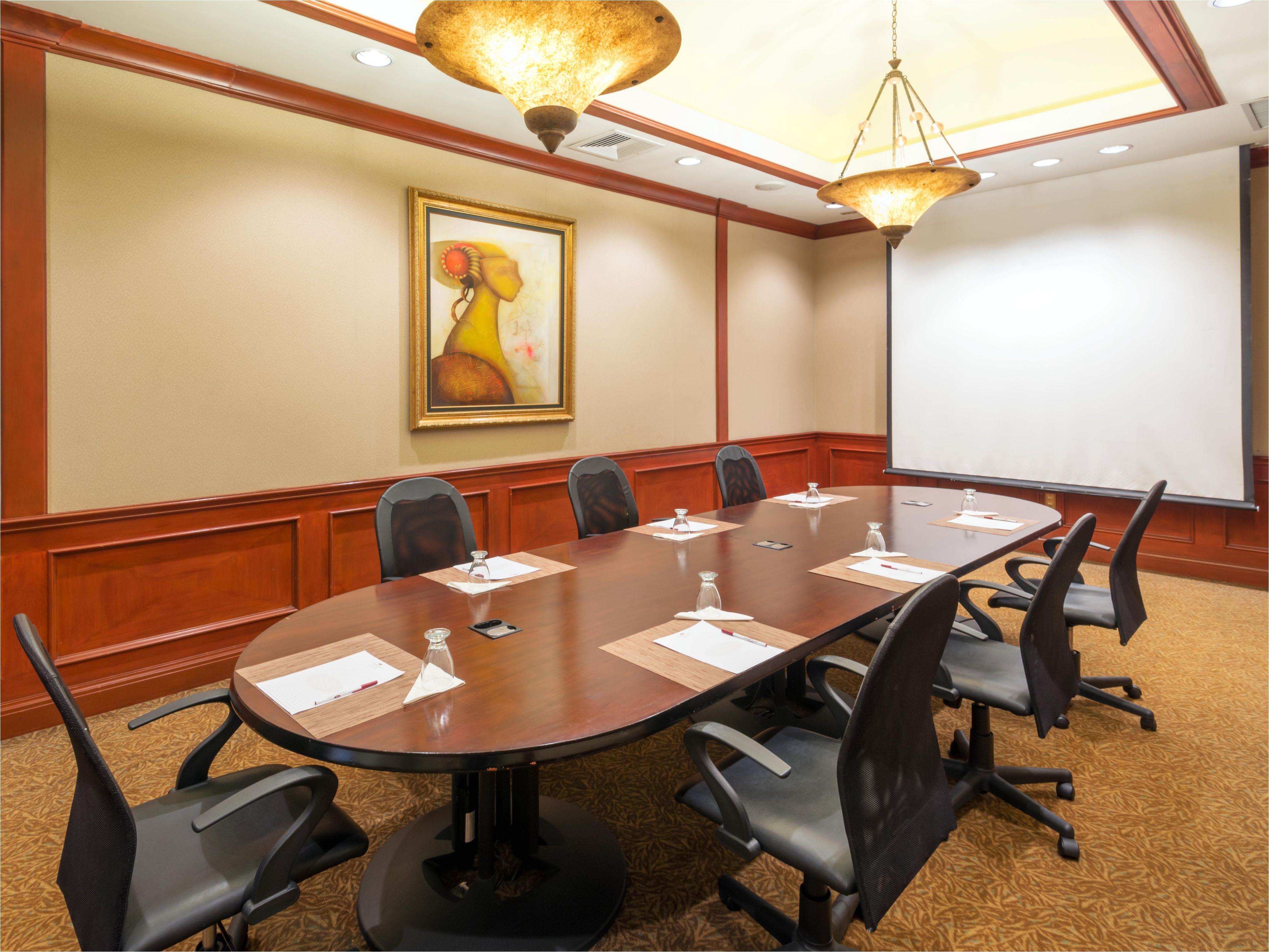 El Salvador – Curacao sofa Crowne Plaza San Salvador Hotel Meeting Rooms for Rent