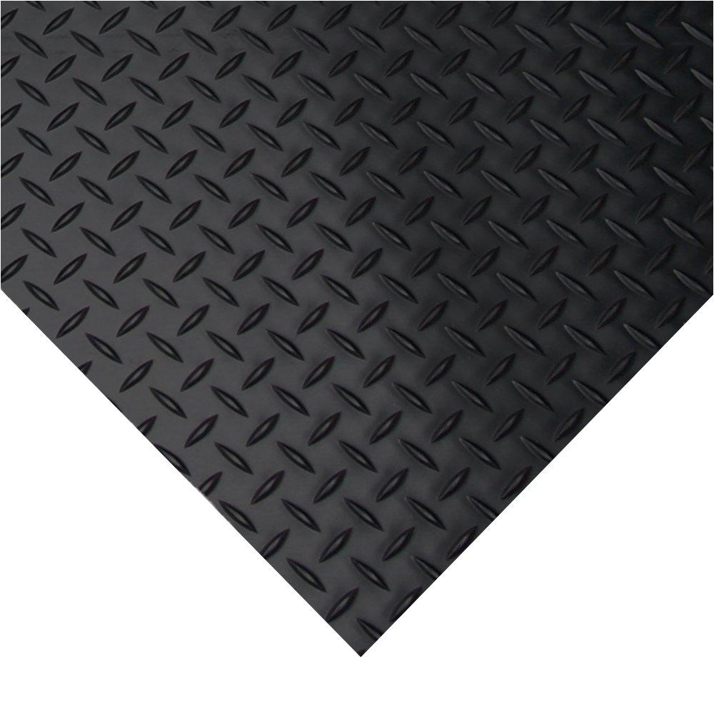 diamond plate rubber flooring rolls 3mm x 4ft x 1 5ft rolls