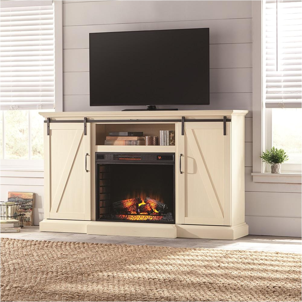Entertainment Center with Electric Fireplace Insert Electric Fireplaces Fireplaces the Home Depot