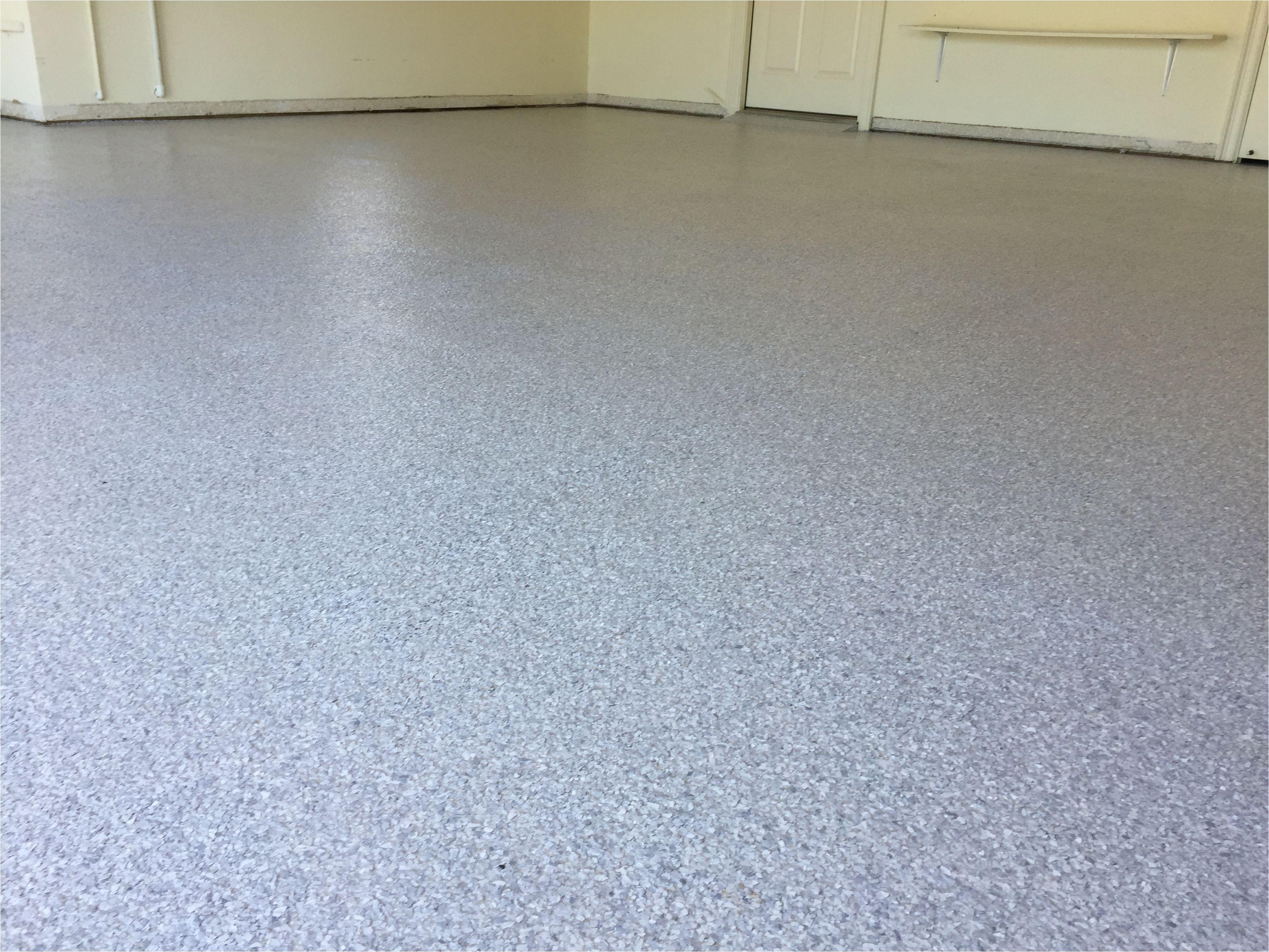full flake epoxy garage floor coating