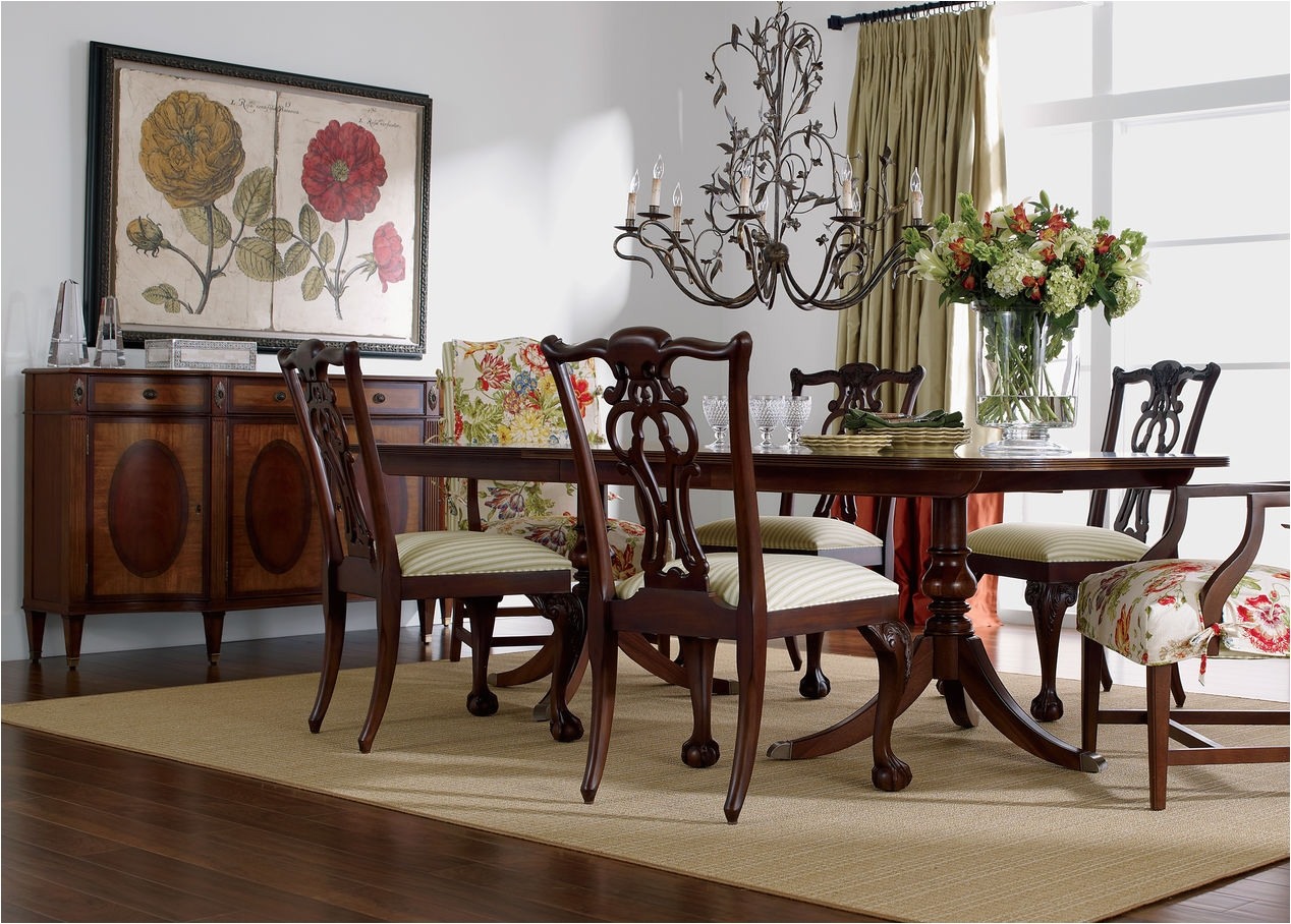 Ethan Allen Radius Collection Bedroom Abbott Dining Table Tables
