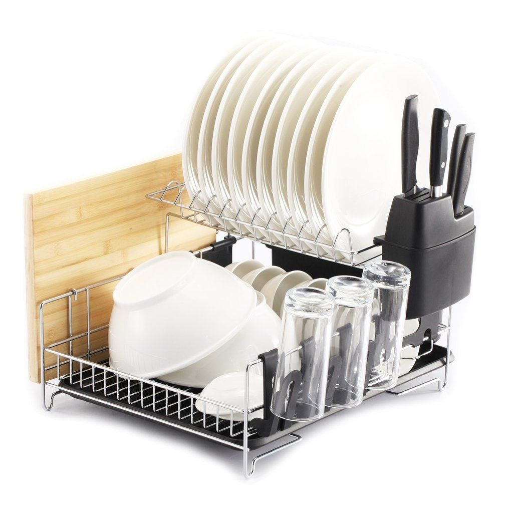2 premiumracks professional dish rack 304 stainless steel fully customizable large capacity modern design