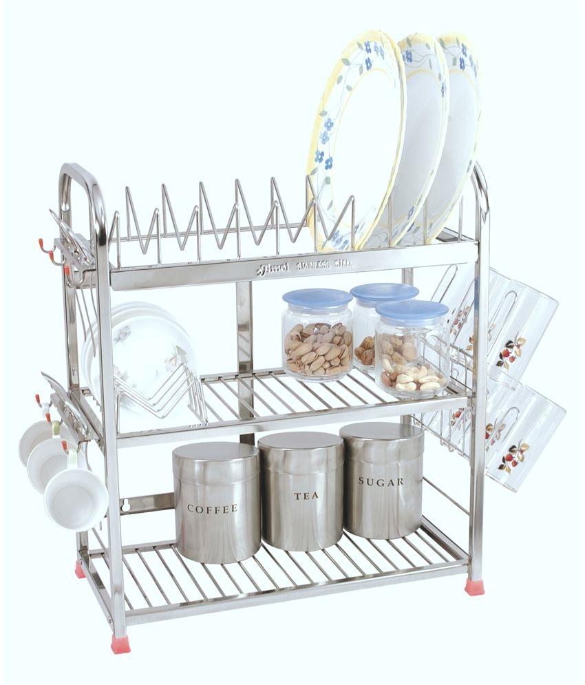amol stainless steel utensils rack