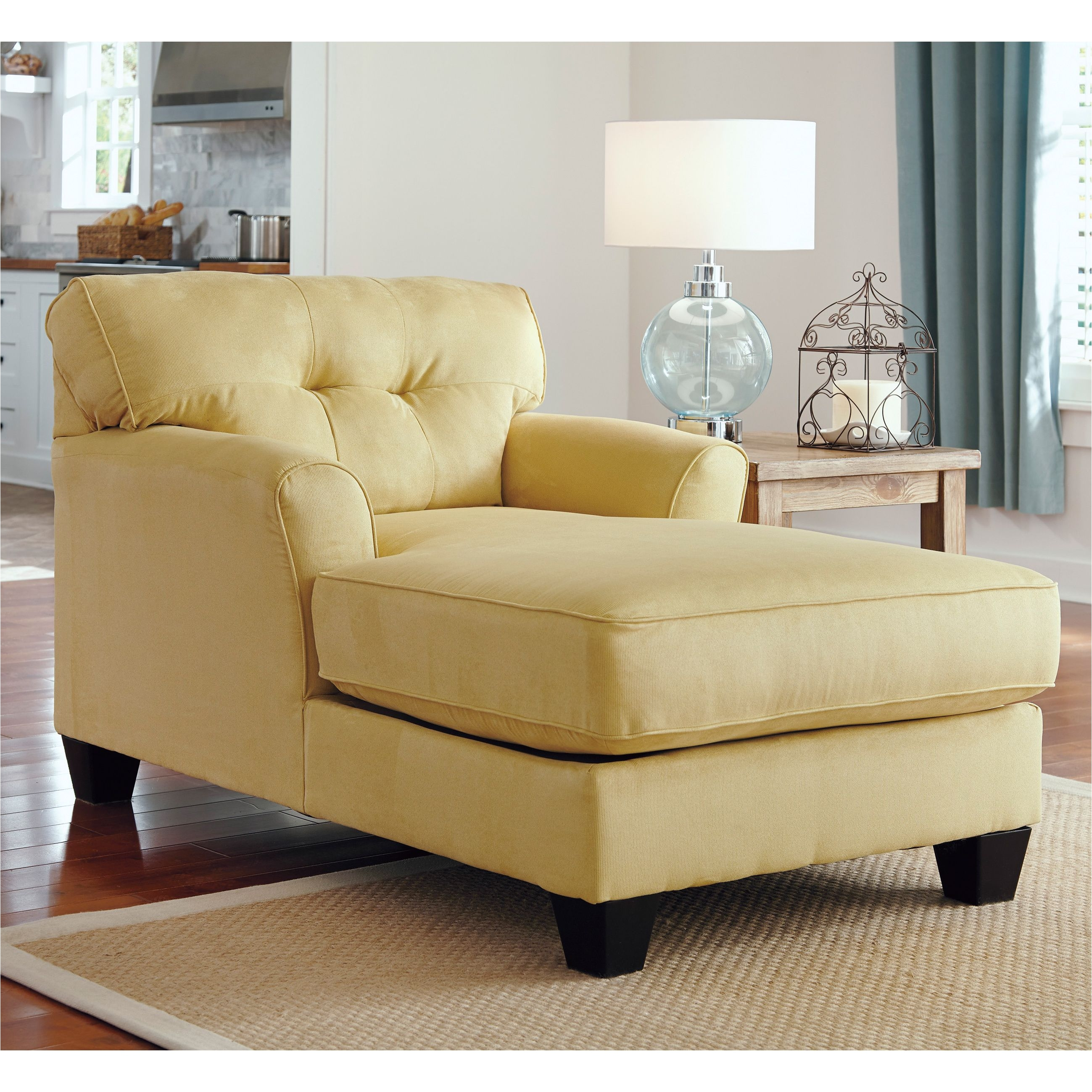Fainting Chair Slipcover Add Rich Warm Color to Your Living Room with This Stately Goldenrod