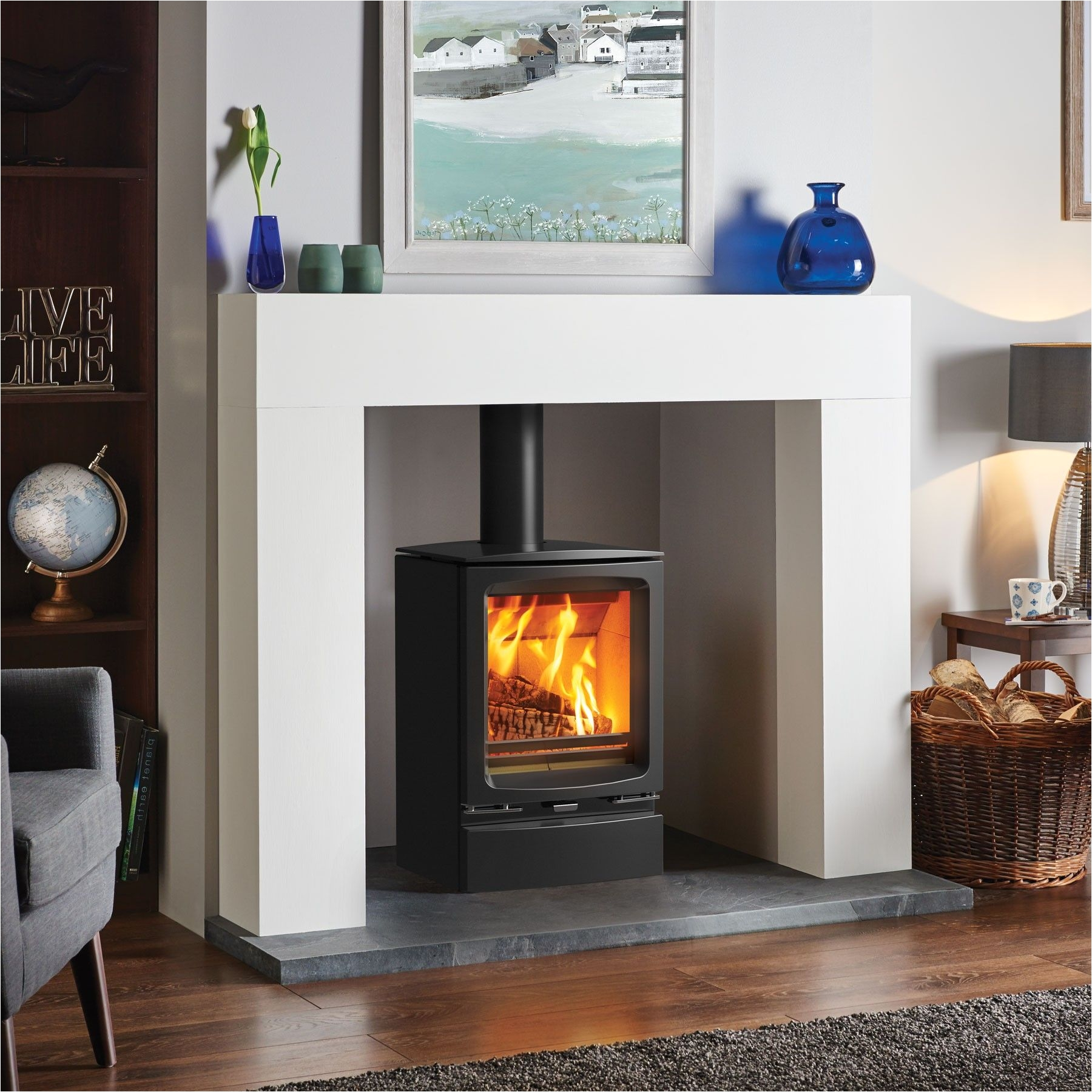 modern fire surrounds for wood burners google search more