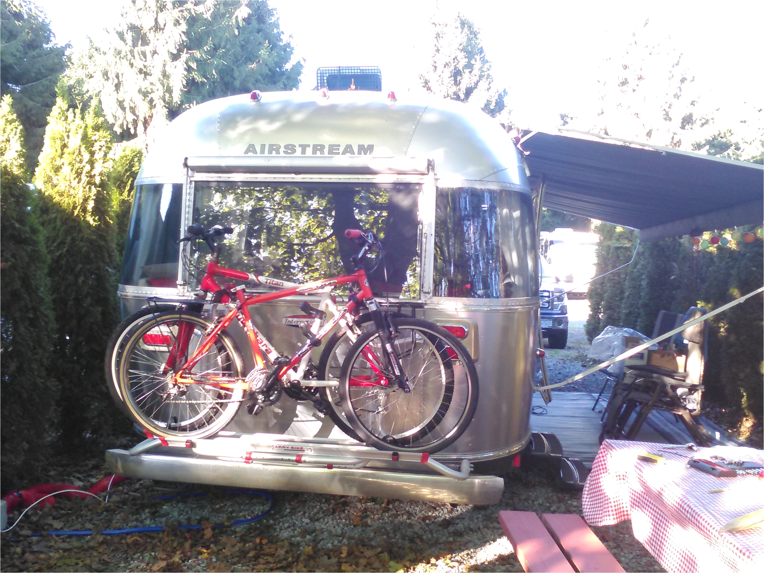 Fiamma Airstream Bike Rack today S Project Fiamma Bike Rack Tiny Shiny House On Wheels