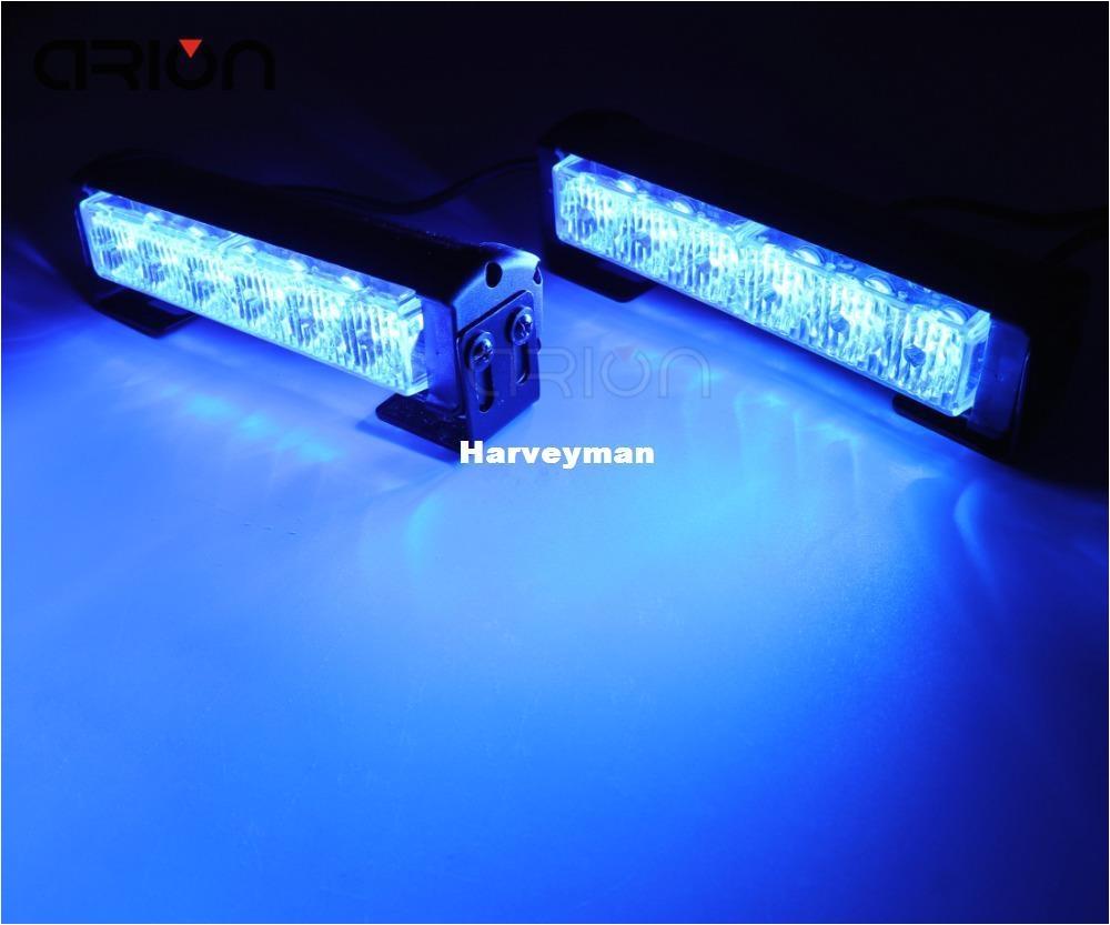 12 led strobe light car warning flashlight led light bar emergency police firemen lights lamp blue emergency strobe light emergency strobe light kits from