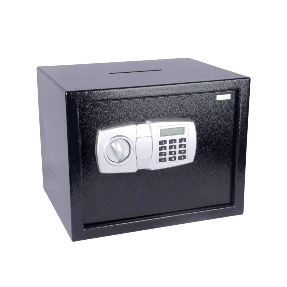 amazon com serenelife drop box safe box safes lock boxes front loading safe cash vault drop lock safe security box digital safe box money safe