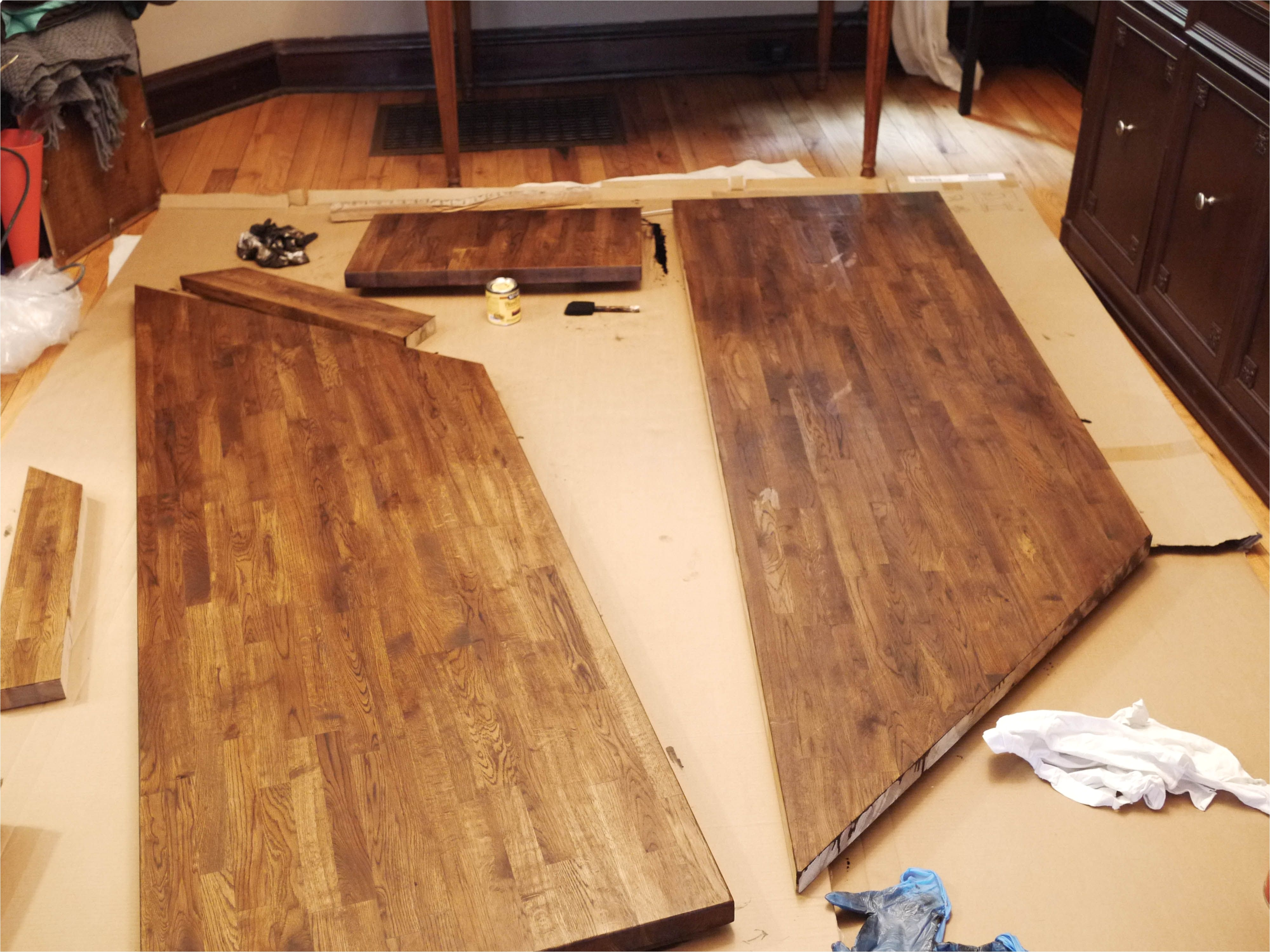 diy ikea butcher block countertops as desk ikea butcherblock countertops part 1