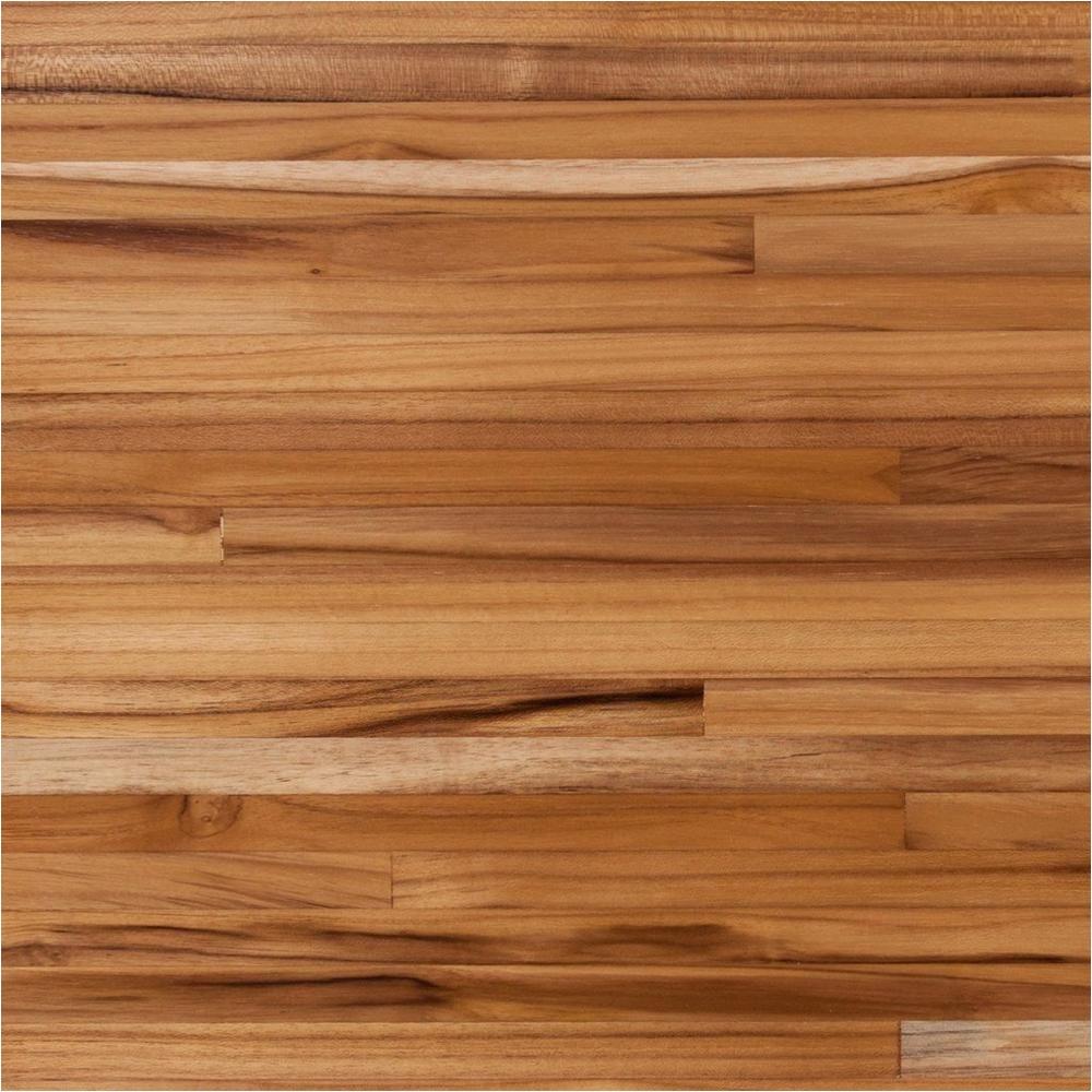 plantation teak butcher block countertop 12ft 144in x 25in 100121516 floor and decor