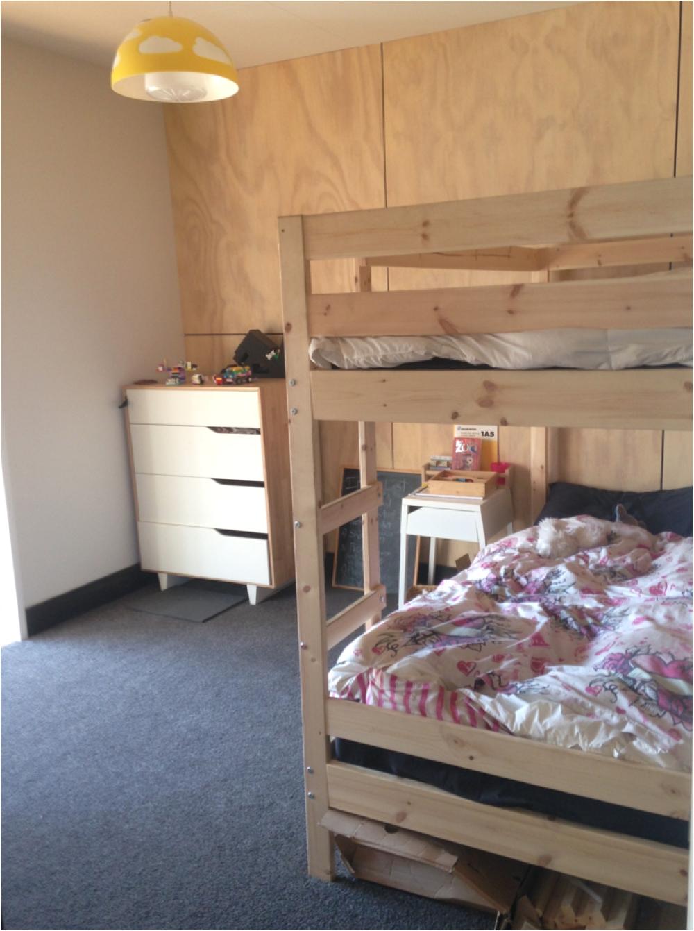 ply plywood bunkroom kids bunks building nz buildme co