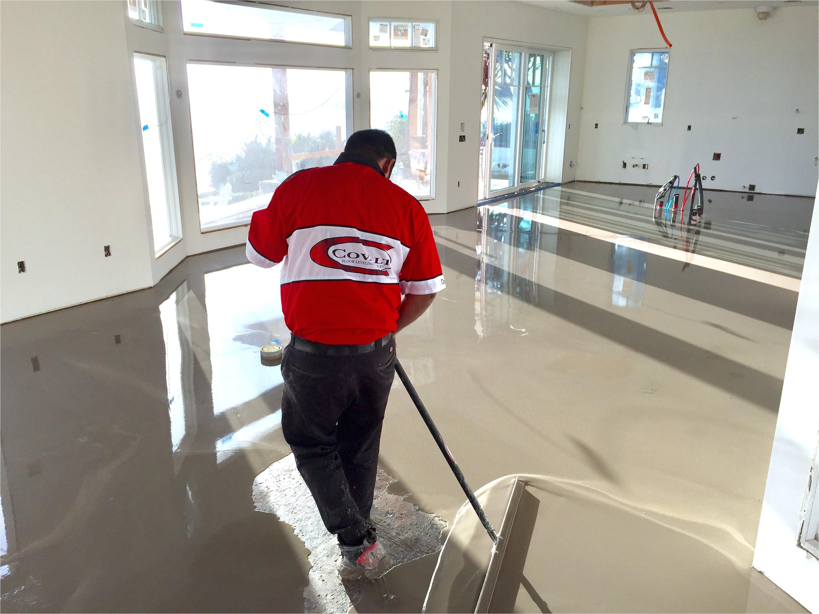 concrete floor leveling concrete crack repair