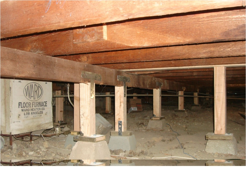floor leveling pier support
