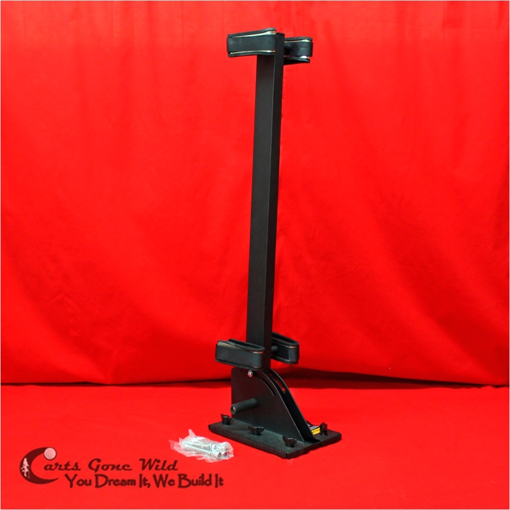golf cart gun rack universal floor mount quick release guns or bows atv utv
