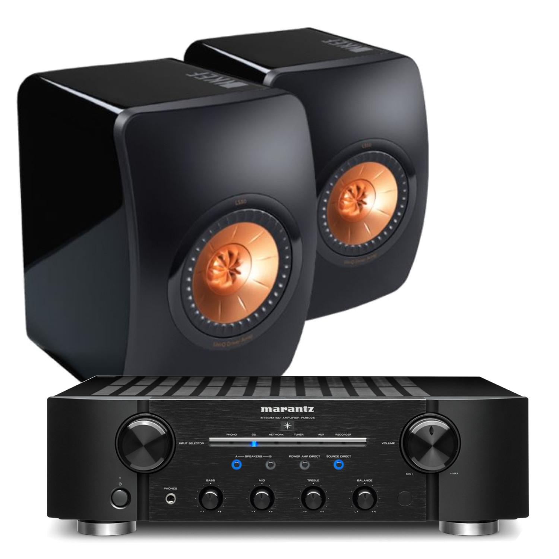 Floor Standing Bluetooth Speakers Uk Marantz Pm8006 Hifi Amplifier with Kef Ls50 Speakers