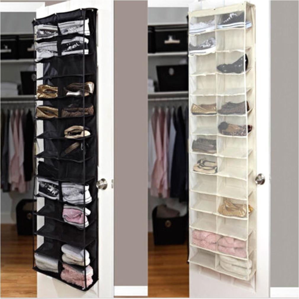 Floor To Ceiling Shoe Rack Uk Over The Door Hanging Shoe Organizer Storage  Holder Sorter For