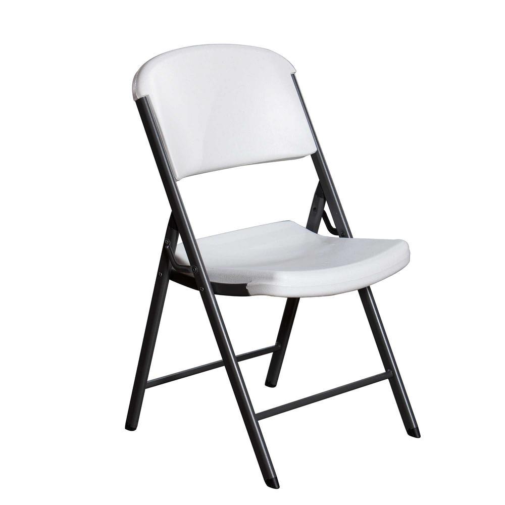 lifetime white folding chair
