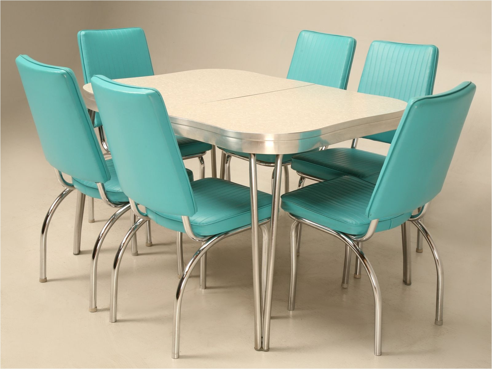 Formica Table and Chairs for Sale Take A Leap Back In Time with This Chrome Brushed Aluminium Vinyl