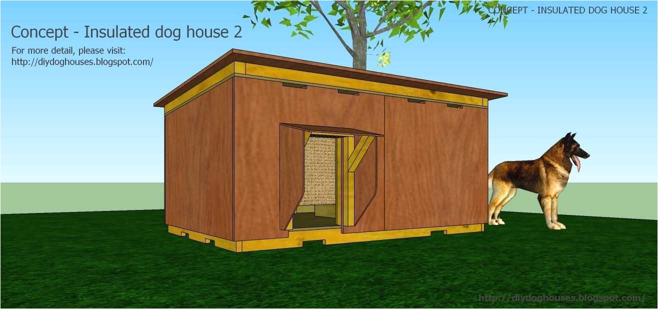 Free Large Breed Dog House Plans Dog House Plans for Large Dogs Insulated Elegant Easy Dog House