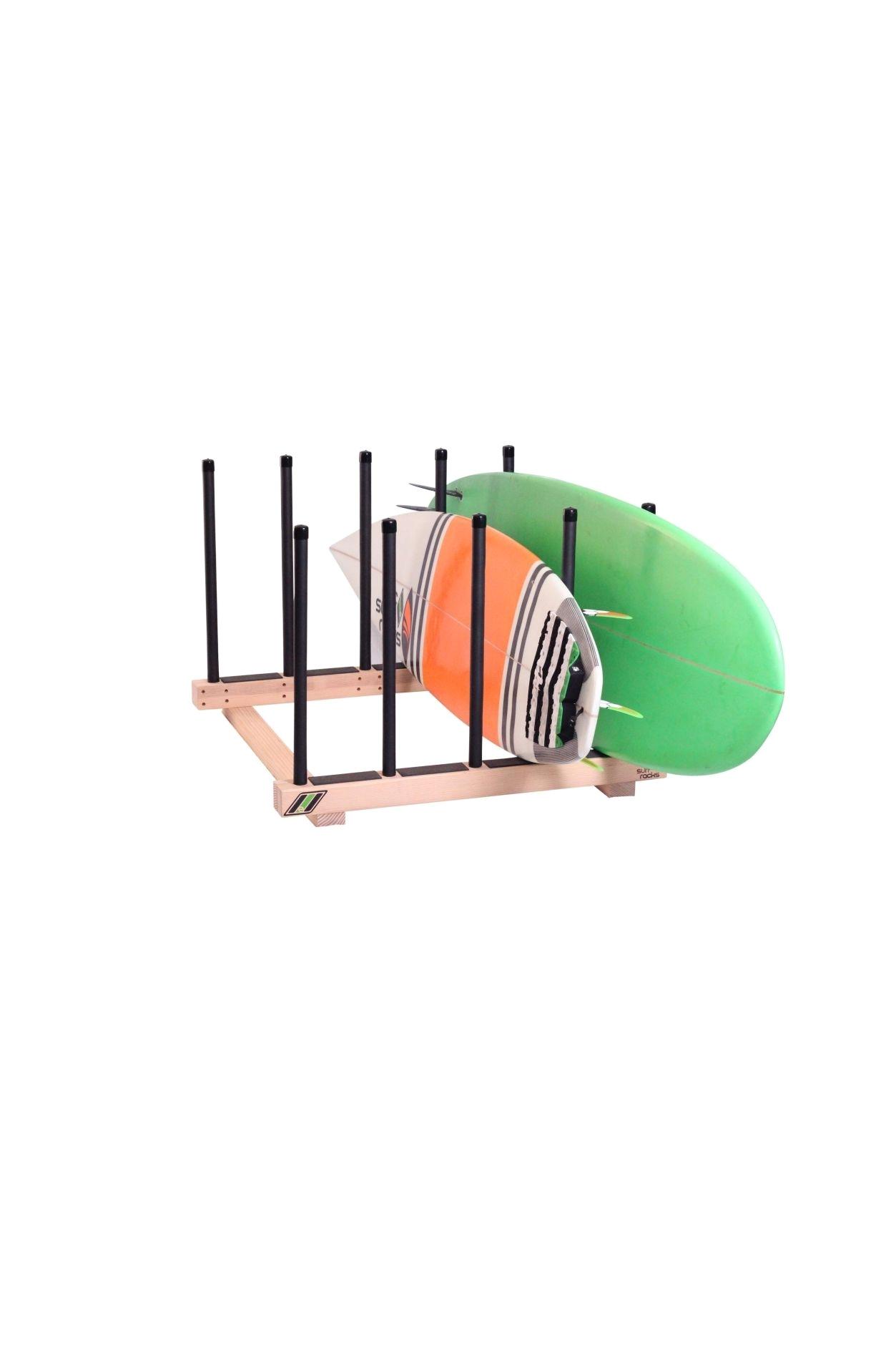 the pig dog surfboard sup floor rack