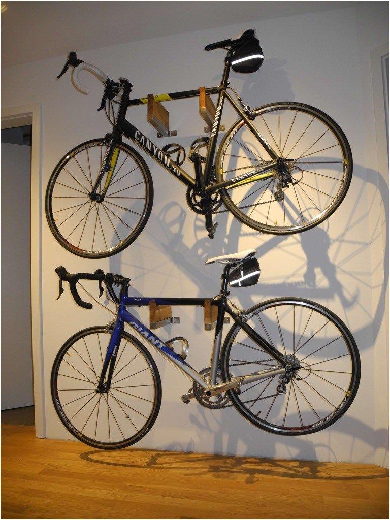 Freestanding Vertical Bike Rack Diy Bicycle Rack In Gorgeous Wood and Steel Combo Diy Home Pinterest