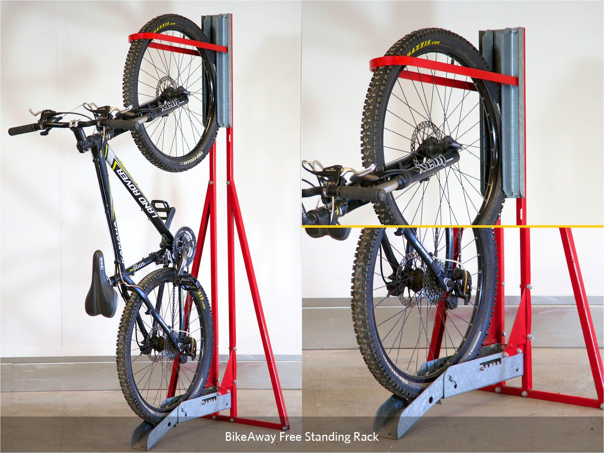 bikeaway free standing rack cycle works limited bike lockers bike storage bike sheds