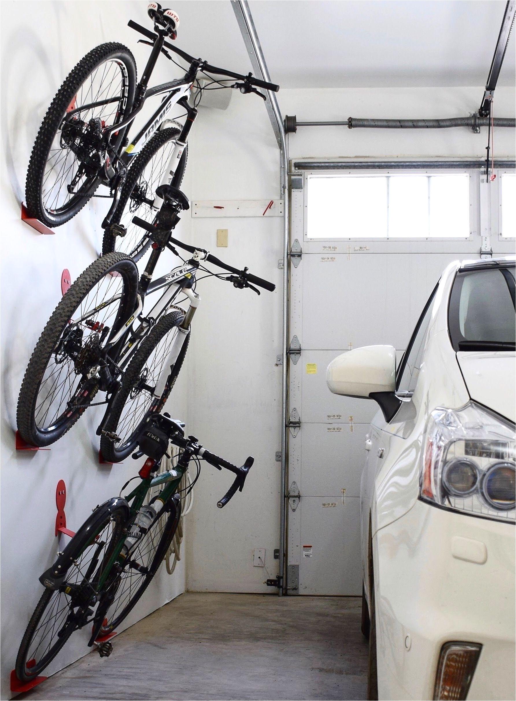Freestanding Vertical Bike Rack System Bike Wall Hanger Dahanger Dan Bike Hook Reclaim Your Floor Space
