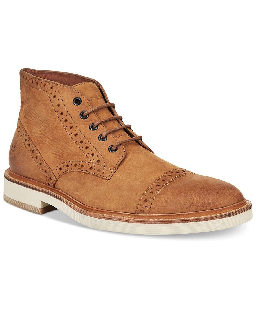 frye men s joel brogue chukka boots all men s shoes men macy s