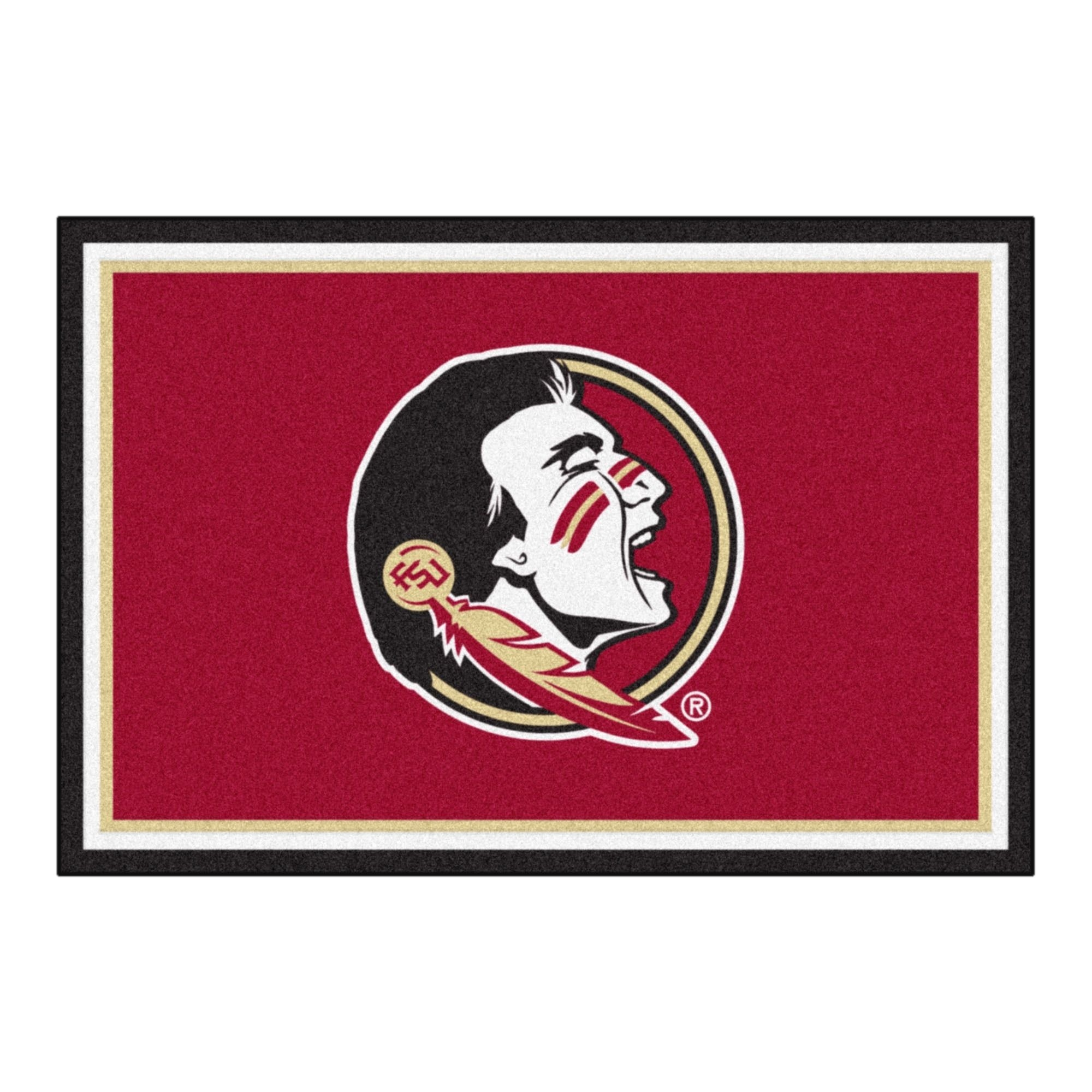 fanmats ncaa florida state university area rug