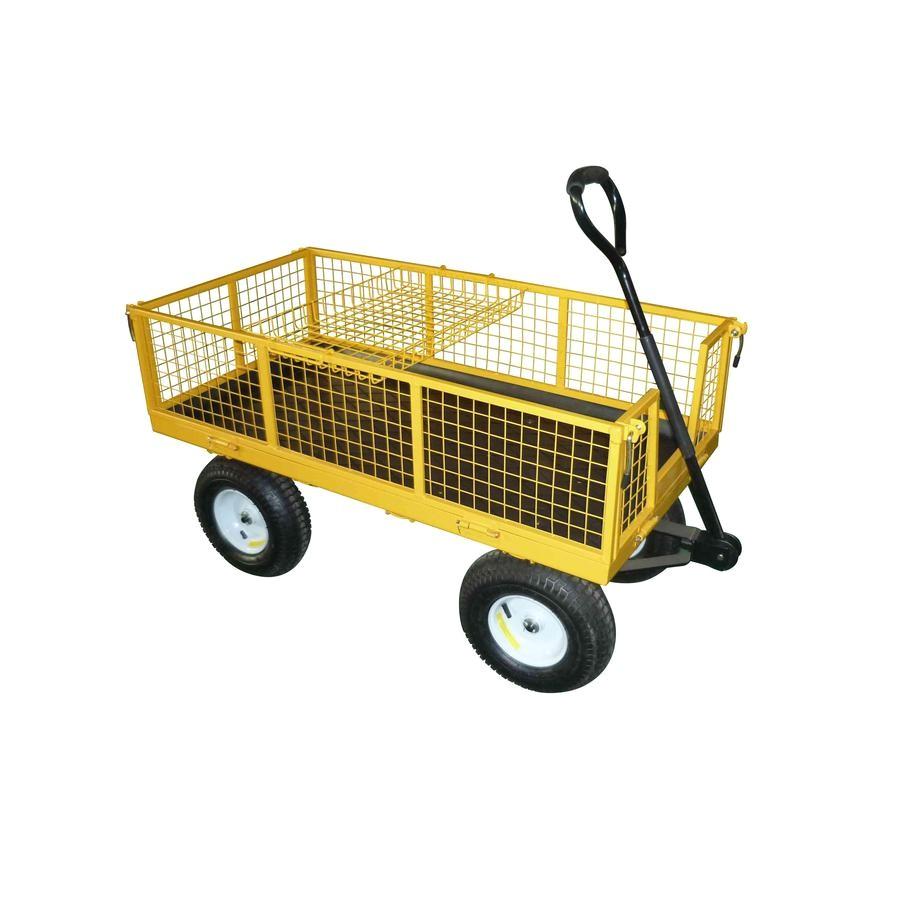 Garden Wagon Lowes Shop Garden Plus 6 Cu Ft Steel Yard Cart at Lowes Com