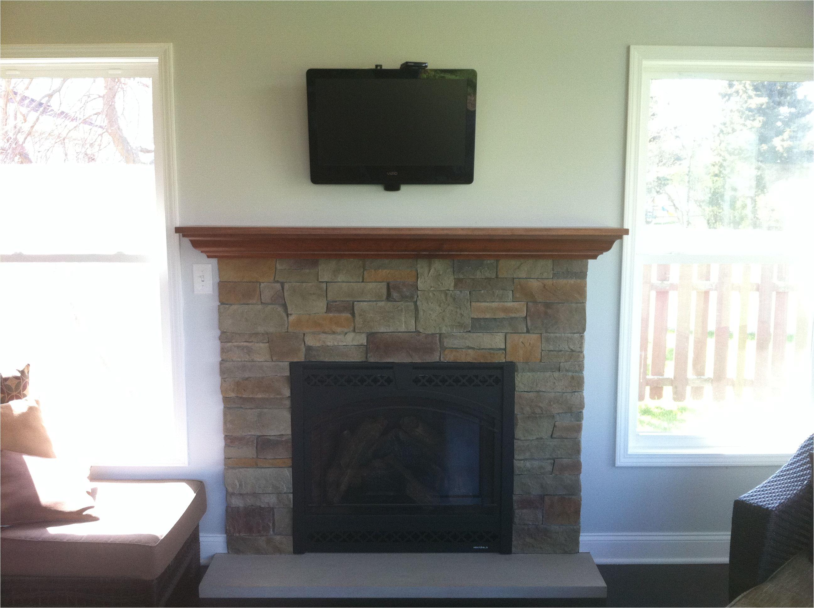 gas fireplace insert custom maple mantel fieldstone fireplace reface limestone hearth